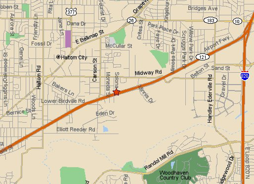 See where we are located in Fort Worth, TX
